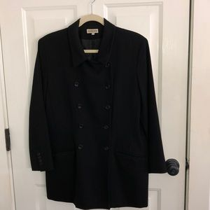 Gerard Darrel 44black wool jacket stunning